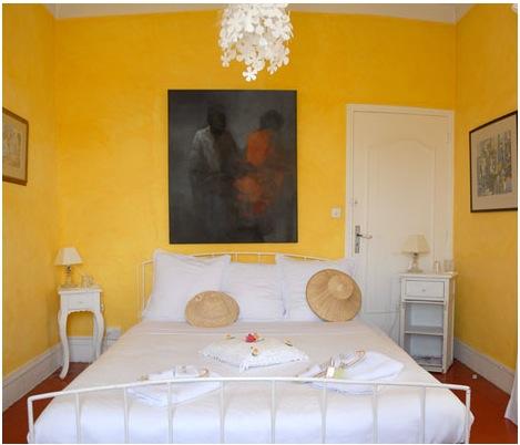 Chambre jaune